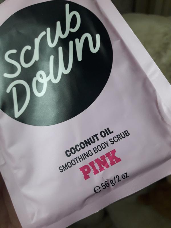 Кокосовый скраб для тела scrub down coconut oil pink victoria'... - Фото 2