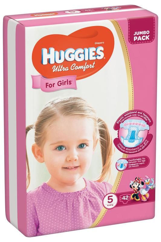 Подгузники HUGGIES 5-ка Ультра Комфорт - Фото 2