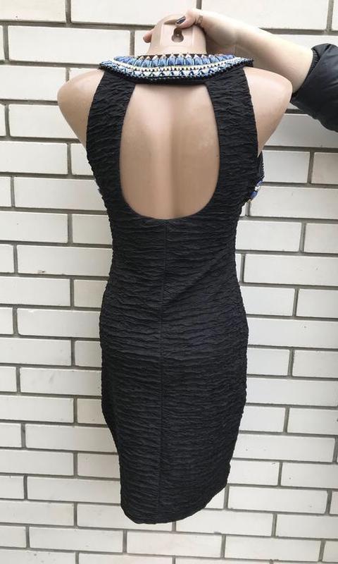Эксклюзивное платье как у бейонсе фактурная ткань,этно,вышивка... - Фото 10