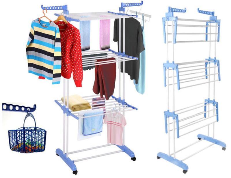 Многоярусная Складная сушилка для одежды - белья Garment Rack