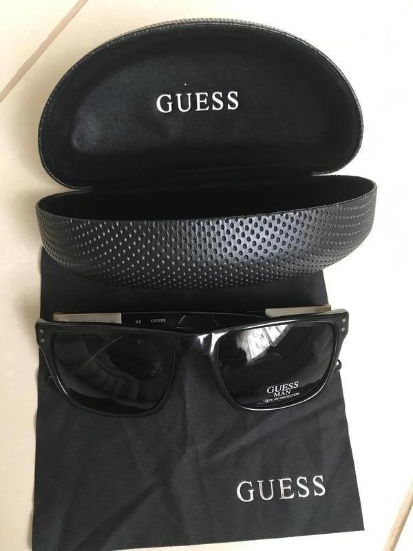 Очки солнцезащитные фирменные дорогой бренд guess