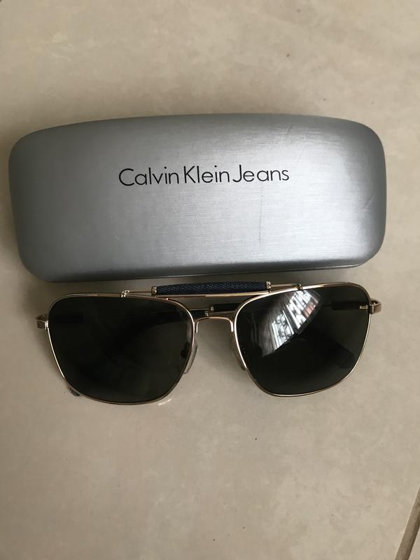 Очки солнцезащитные фирменные дорогой бренд calvin klein оригинал