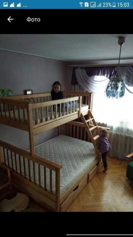 Семейная кровать Жасмин с ящиками. - Фото 8