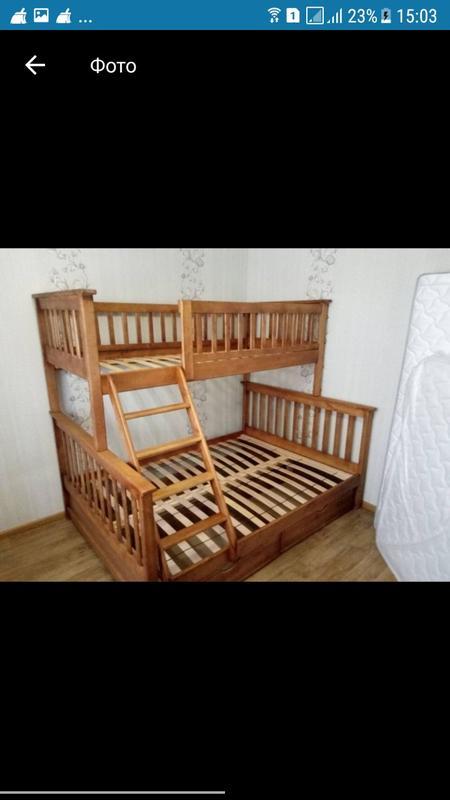Семейная кровать Жасмин с ящиками. - Фото 9