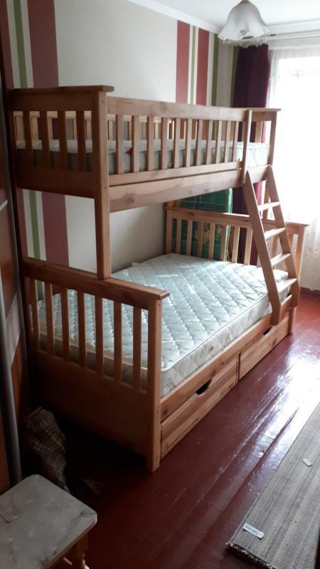 Семейная кровать Жасмин с ящиками. - Фото 6
