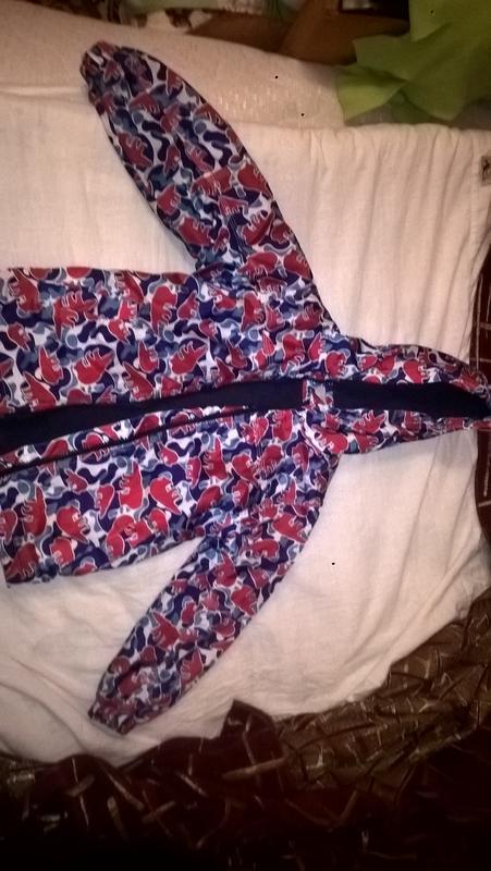 Куртка на флисе next, утепленная ветровка, 3-4года, 116 см, УНИСЕ
