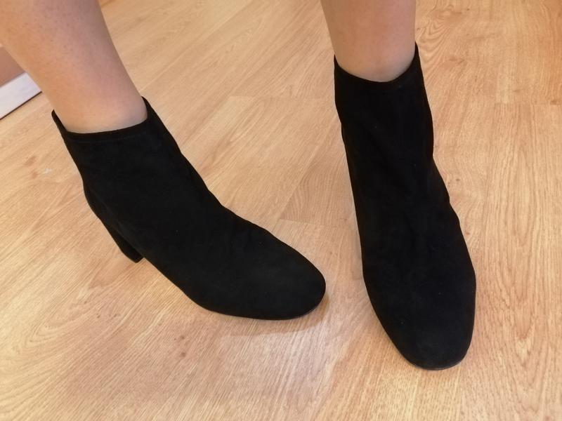 Замшевые ботинки полусапожки nine west - Фото 8
