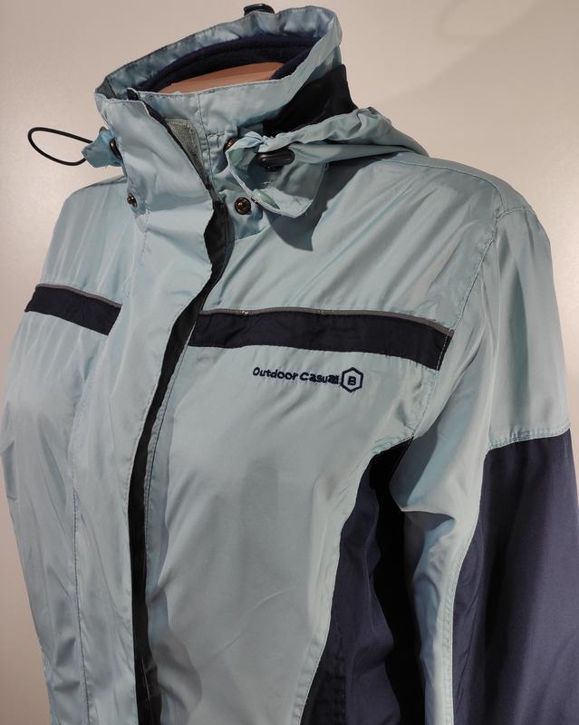 Женская спортивная куртка на флисе размер 46 - Фото 6
