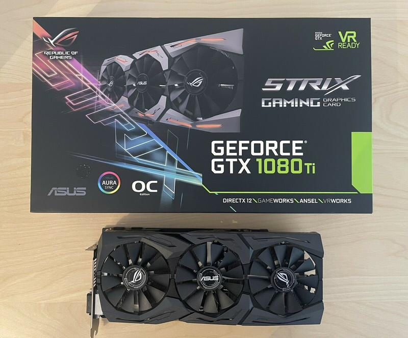 ASUS ROG Strix GeForce GTX 1080 Ti OC 11GB GDDR5X