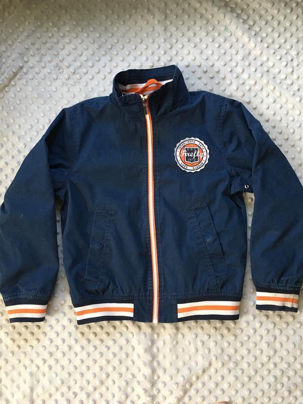 Куртка, ветровка, детская куртка, синяя куртка