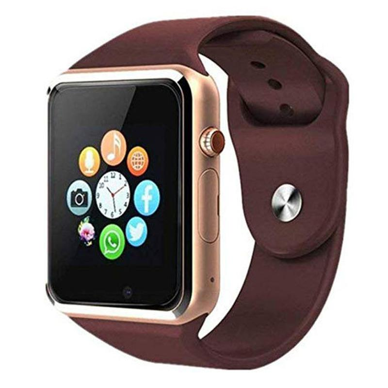 Smart Watch A1, Sim cart + камера, gold