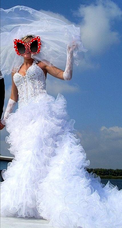 Свадебное платье, б/у