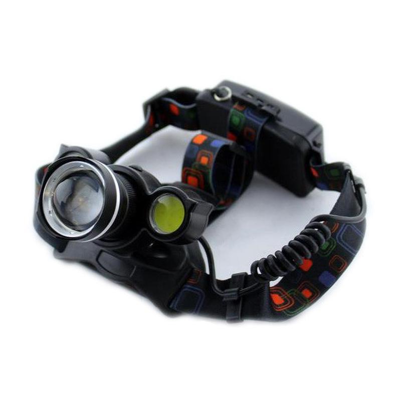 Налобный фонарь, аккумуляторный, Bailong, Police BL-878 Setavir