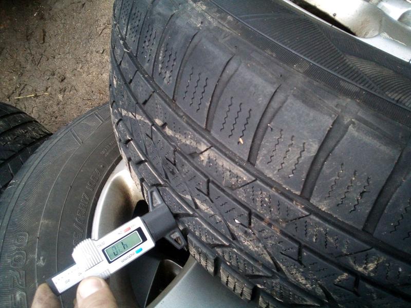 Зимние шины для внедорожников 235 65 17 Hankook i.cr - Фото 6