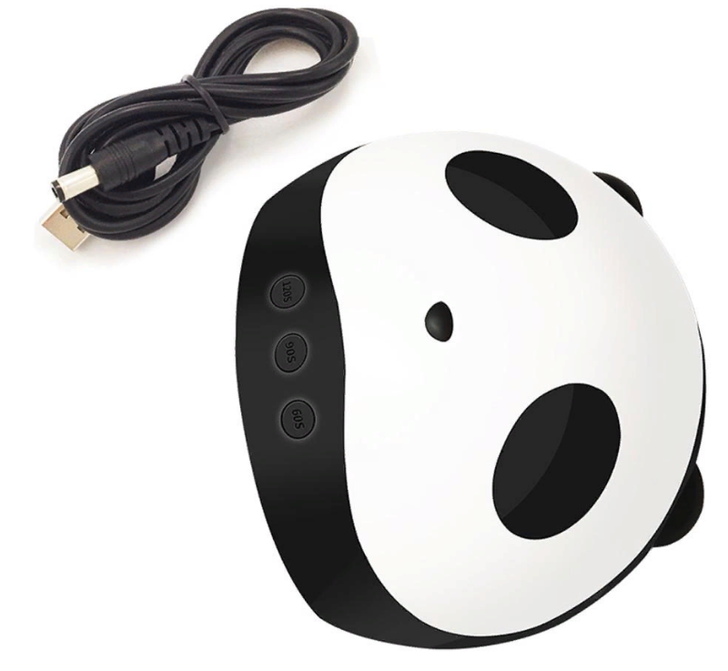 Лампа для маникюра гель лака Уф 36 Вт панда - Фото 4