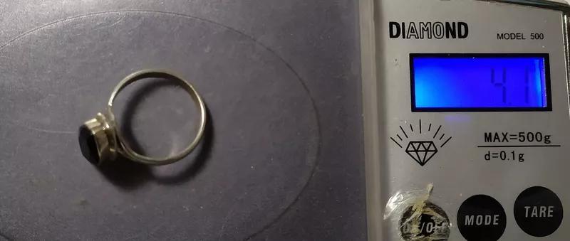 Комплект с гранатом. Натуральный гранат в серебре. Альмандин. - Фото 5