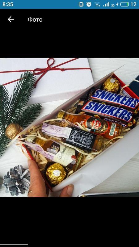 Подарочный набор подарок в коробке подарочный мужской  бокс - Фото 5