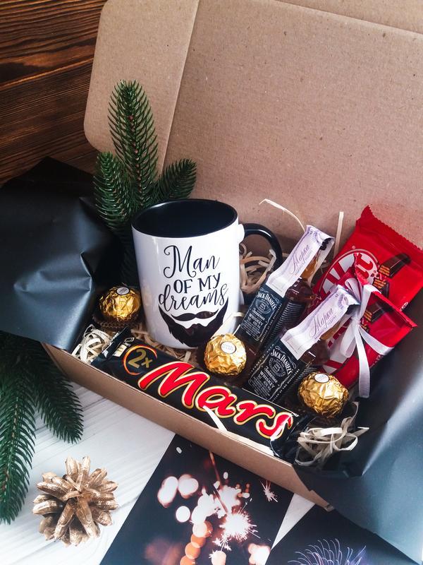 Подарочный набор подарок в коробке подарочный мужской  бокс - Фото 6
