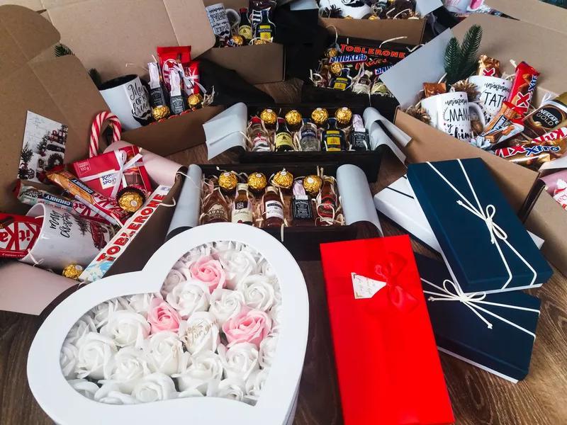 Подарочный набор подарок в коробке подарочный мужской  бокс - Фото 9