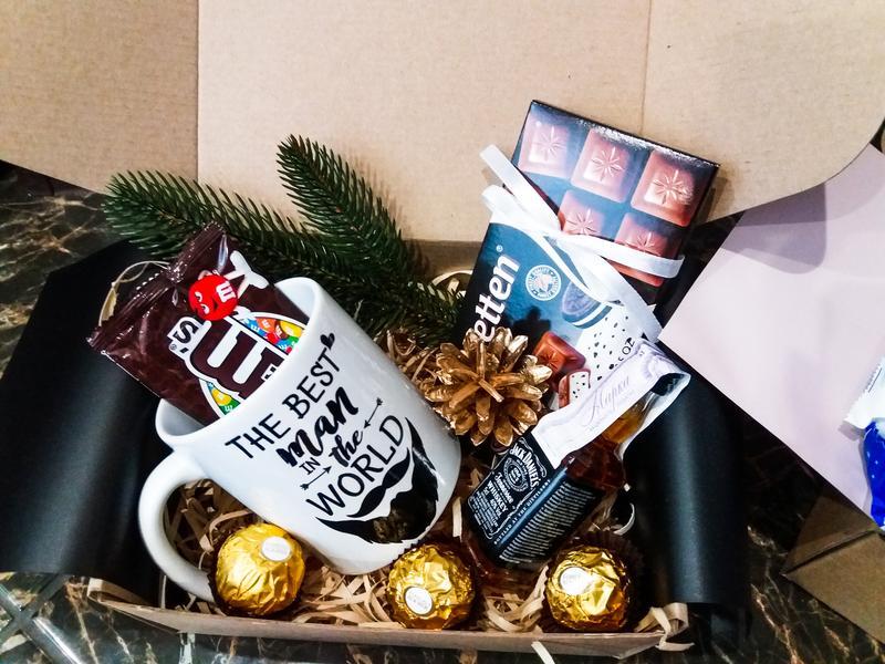 Подарочный набор подарок в коробке подарочный мужской  бокс - Фото 7