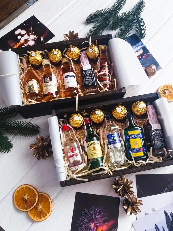 Подарочный набор подарок в коробке подарочный мужской  бокс - Фото 11