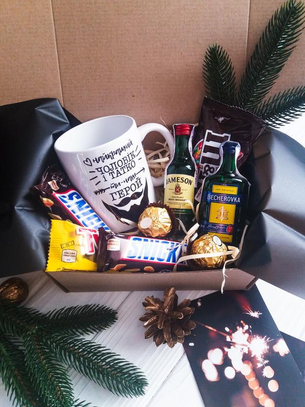 Подарочный набор подарок в коробке подарочный мужской  бокс - Фото 8
