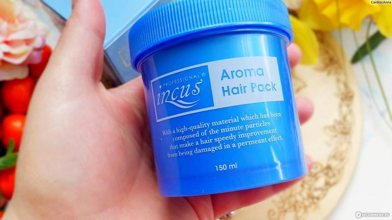 Интенсивно восстанавливающая маска для волос somang incus