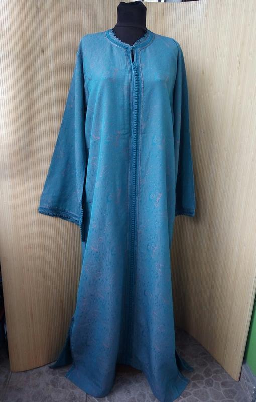 Марокканский кафтан / длинное платье / абая l/xl