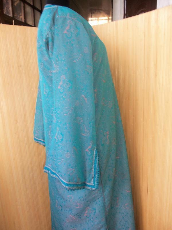 Марокканский кафтан / длинное платье / абая l/xl - Фото 3