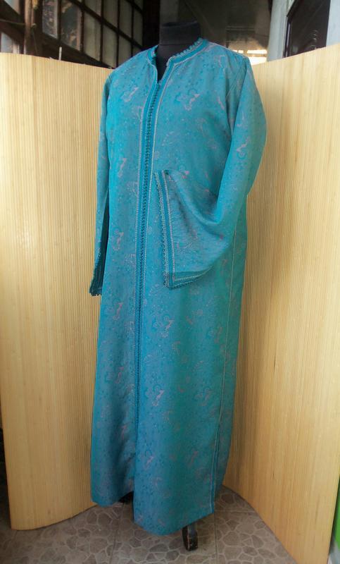 Марокканский кафтан / длинное платье / абая l/xl - Фото 4
