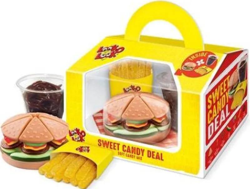 Подарочный набор сладостей Look-O-Look Тролли Харибо желейки бокс