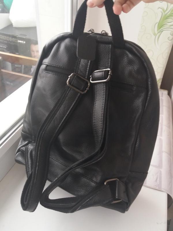 Женский кожаный рюкзак из натуральной кожи шкіряний жіночий су... - Фото 2