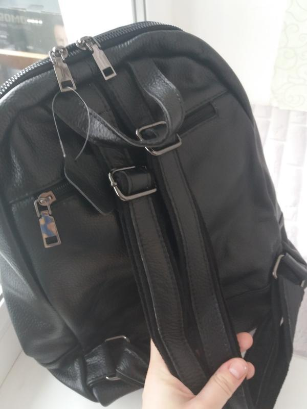 Женский кожаный рюкзак из натуральной кожи шкіряний жіночий су... - Фото 5
