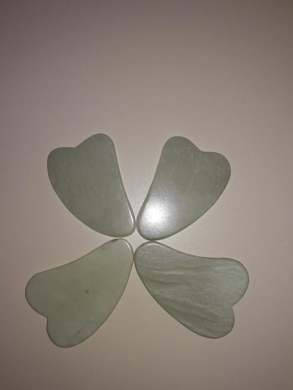 Нефритовий скребок гуаша - Фото 2