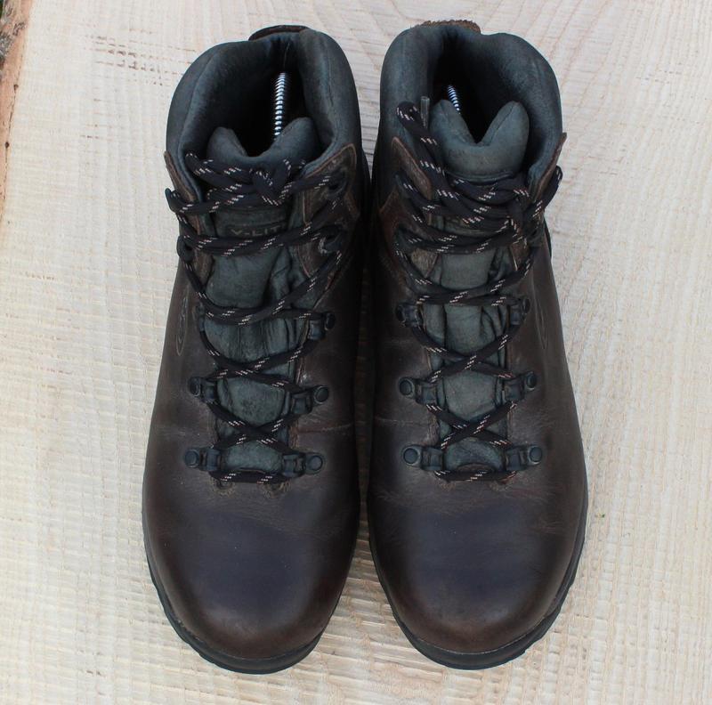 Кожаные мужские ботинки hi-tech, размер 41 - Фото 2