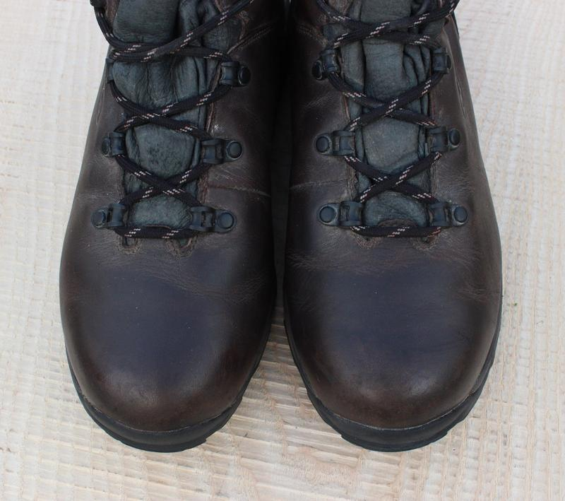 Кожаные мужские ботинки hi-tech, размер 41 - Фото 3