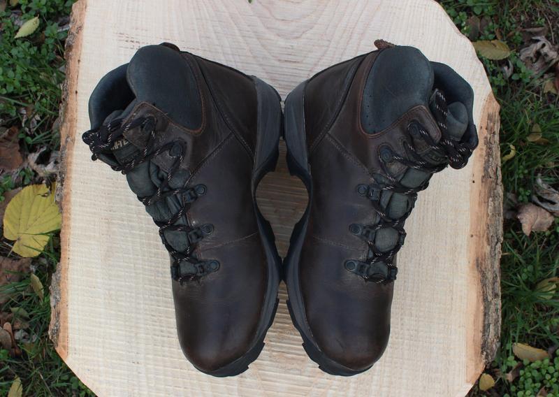 Кожаные мужские ботинки hi-tech, размер 41 - Фото 4