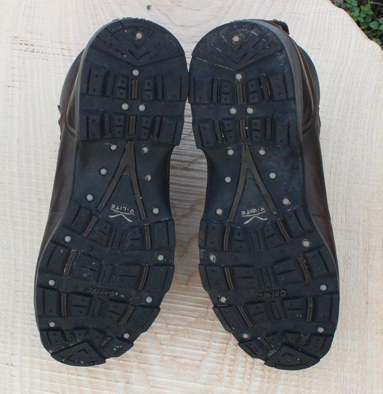 Кожаные мужские ботинки hi-tech, размер 41 - Фото 5