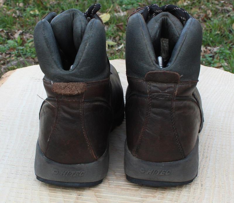 Кожаные мужские ботинки hi-tech, размер 41 - Фото 6