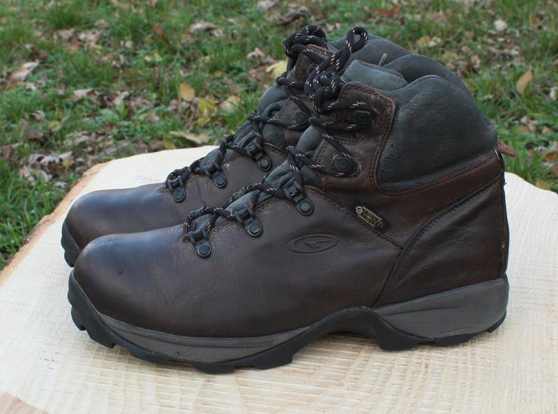 Кожаные мужские ботинки hi-tech, размер 41 - Фото 7