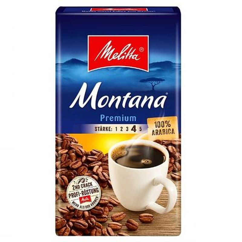 Кофе Melitta Montana Premium 100% Arabica молотый (500 г)