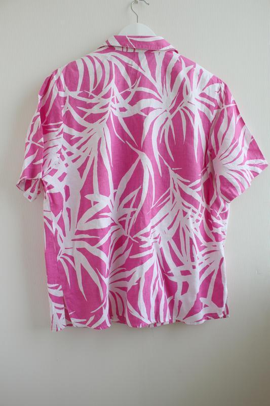 Распродажа!!! шикарная льняная блуза, 100% лен - Фото 2