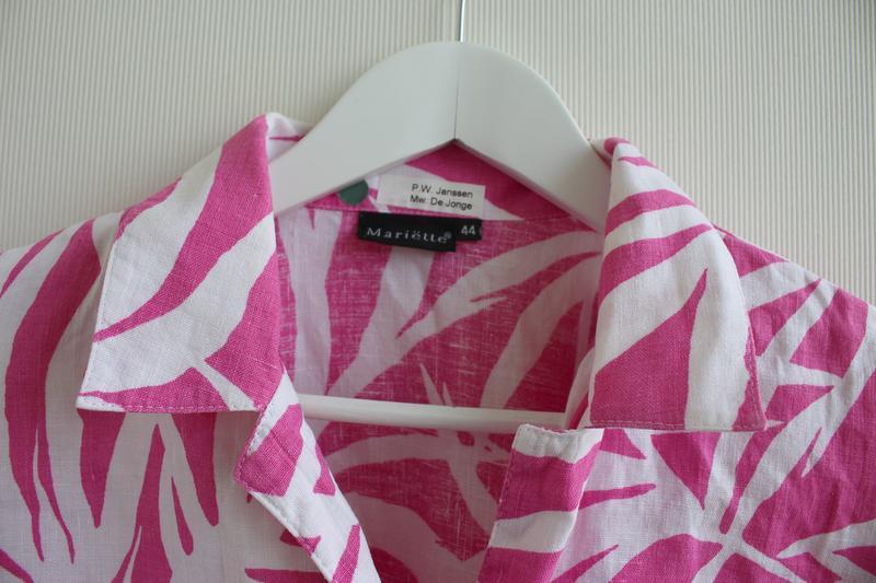 Распродажа!!! шикарная льняная блуза, 100% лен - Фото 3