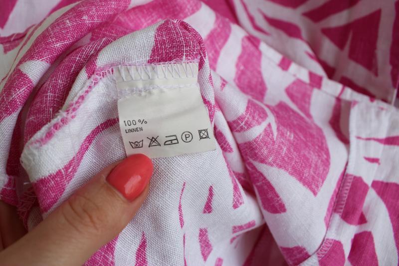 Распродажа!!! шикарная льняная блуза, 100% лен - Фото 4