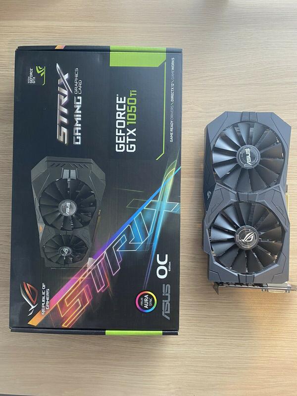 ASUS ROG Strix GeForce GTX 1050 TI OC Edition 4GB GDDR5 Graphics