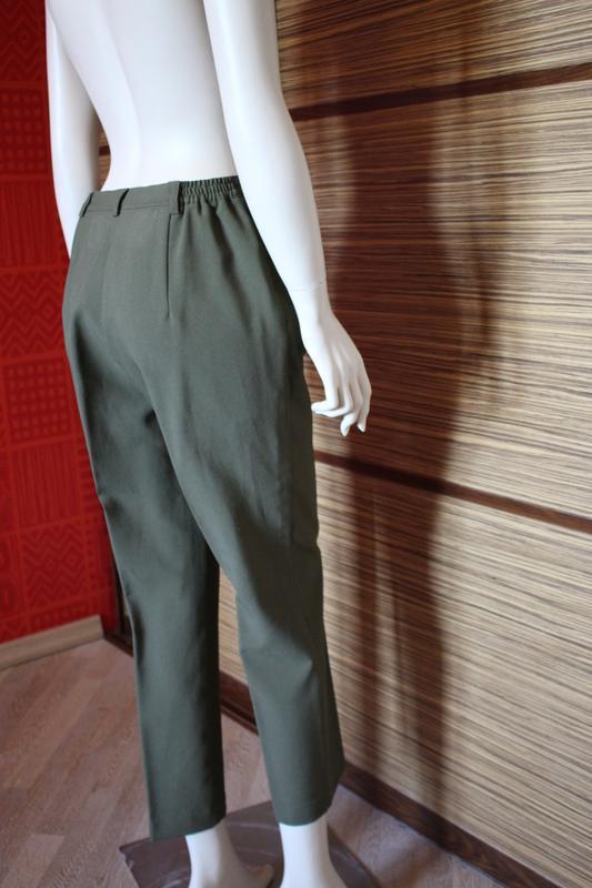 Распродажа!!!  винтажные классические брюки, высокая посадка о... - Фото 3