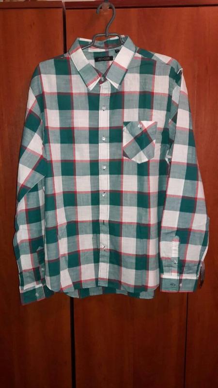 Рубашка мужская. Размер: XL