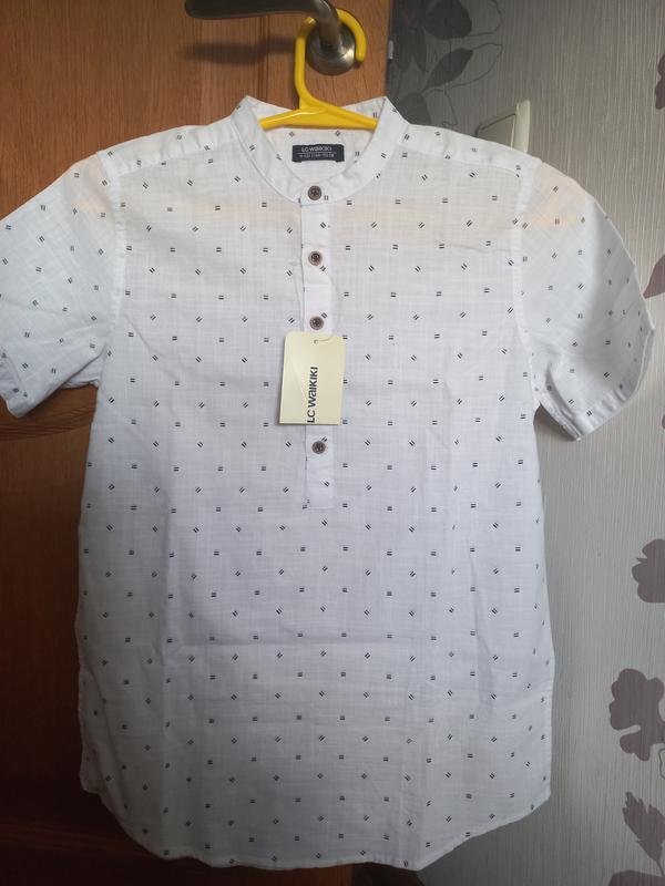 Рубашка на мальчика 11-12 лет.