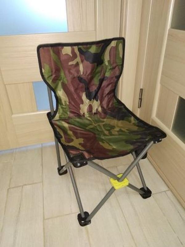 Стул стульчик раскладной складной паук камуфляж