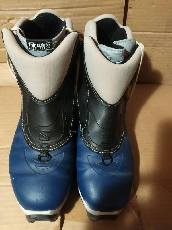 Ботинки для беговых лыж 44 р стелька 28 см оригинал из Германии